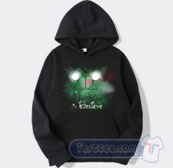 Always Believe Harry Potter Mickey Mouse Graphic Hoodie