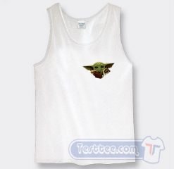 Baby Yoda Star Wars Fuck Graphic Tank Top