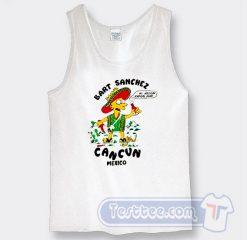 Bart Sanchez Cancun Mexico Graphic Tank Top