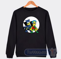 Bart Simpson And Robhouse Graphic Sweatshirt