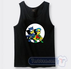 Bart Simpson And Robhouse Graphic Tank Top