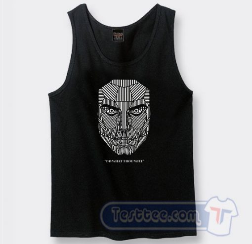 Do What Thou Wilt Alister Crowley Graphic Tank Top