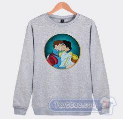 Gay Pride Disney Prince Graphic Sweatshirt