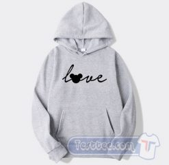 Love Mickey Mouse Graphic Hoodie