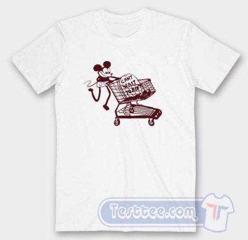 Mickey Can't Wait To Die Graphic Tees