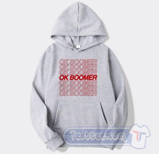 Ok Boomer Graphic Hoodie