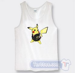 Pikachu Hypebeast X Supreme Graphic Tank Top