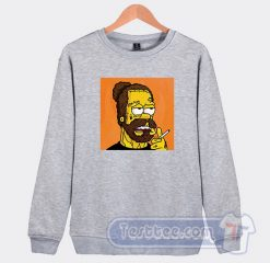 Post Malone Simpson Graphic Sweatshirt