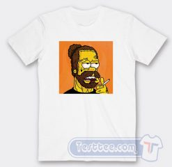 Post Malone Simpson Graphic Tees