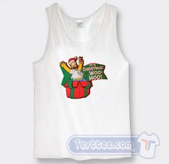 Simpson It's Christmas Wo Ho Graphic Tank Top