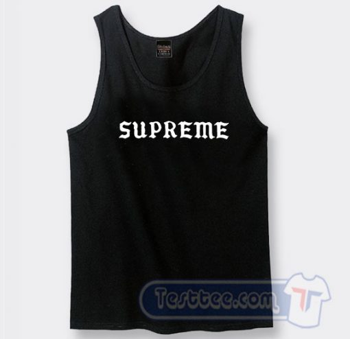 Supreme Inyoung Kpop Graphic Tank Top