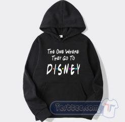 The One Where They Go To Disney Graphic Hoodie