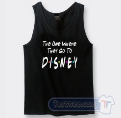 The One Where They Go To Disney Graphic Tank Top