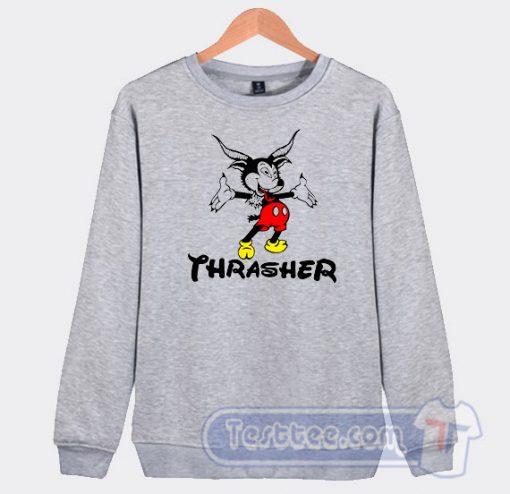 Thrasher Mickey Mouse Graphic Sweatshirt