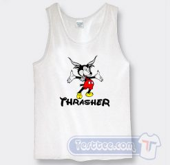 Thrasher Mickey Mouse Graphic Tank Top