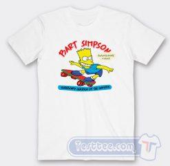 Vintage 1990 Bart Simpson Graphic Tees