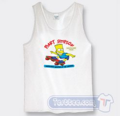 Vintage 1990 Bart Simpson Graphic Tank Top