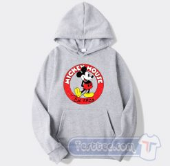 Vintage Mickey Mouse Est 1928 Graphic Hoodie