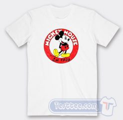 Vintage Mickey Mouse Est 1928 Graphic Tees