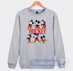 Vintage Mickey Mouse Pose Graphic Sweatshirt
