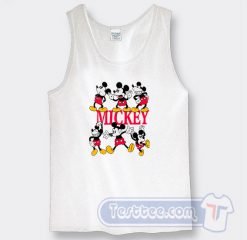 Vintage Mickey Mouse Pose Graphic Tank Top