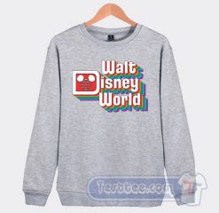 Vintage Walt Disney Logo Graphic Sweatshirt