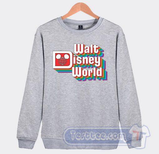 Vintage Walt Disney Logo Graphic Sweatshirt