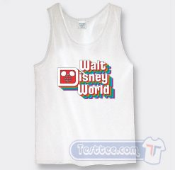 Vintage Walt Disney Logo Graphic Tank Top