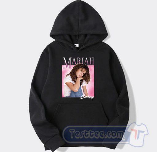 Mariah Carey Beautiful Face Hoodie On Sale