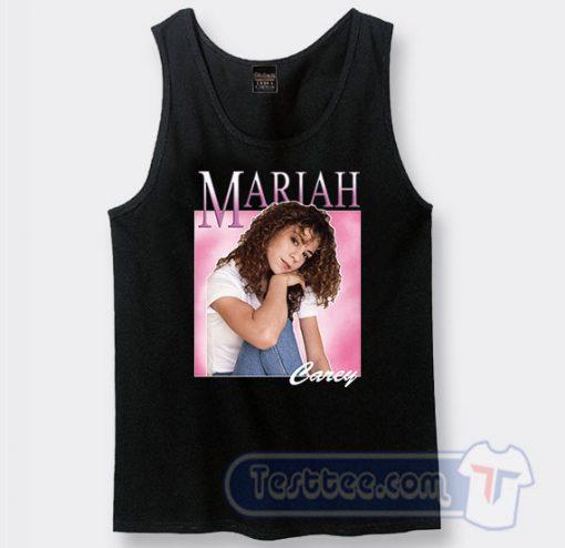 Mariah Carey Beautiful Face Tank Top