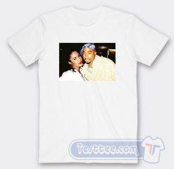 Tupac And Selena Quintanella Photos Tees