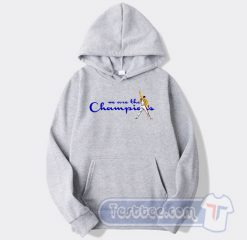 We Are The Champions Freddie Mercury Hoodie
