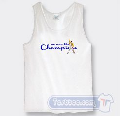 We Are The Champions Freddie Mercury Tank Top