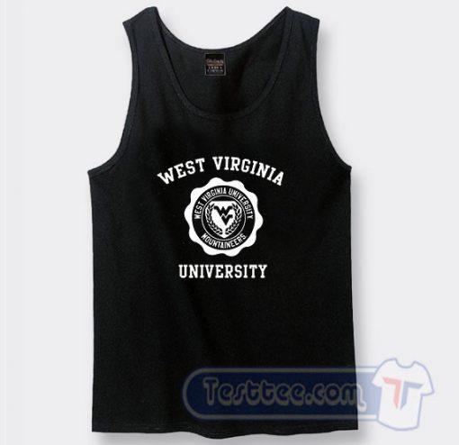 West Virginia University Graphic Tank Top