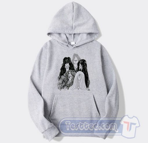 Aerosmith Draw The Line Album Hoodie