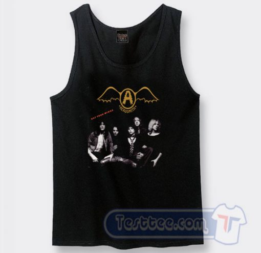 Aerosmith Get Your Wings Album Tank Top