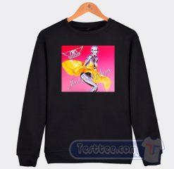 Aerosmith Just Push Play Album Sweatshirt
