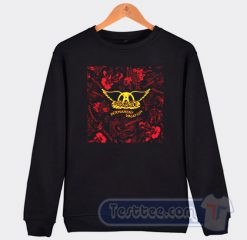 Aerosmith Permanent Vacation Album Sweatshirt
