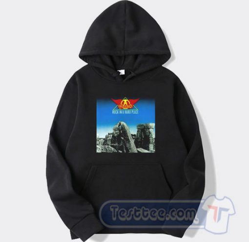 Aerosmith Rocks in a Hard Place Album Hoodie
