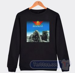 Aerosmith Rocks in a Hard Place Album Sweatshirt