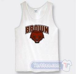 Brown Bears University Tank Top