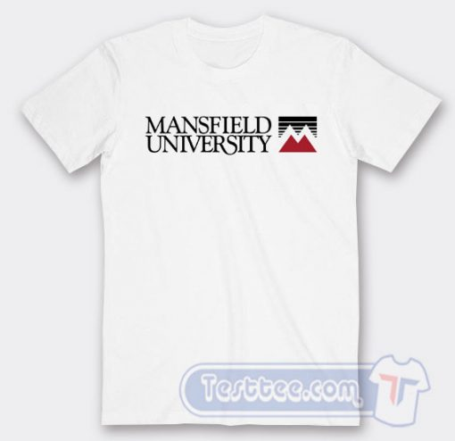 Mansfield University Logo Tees