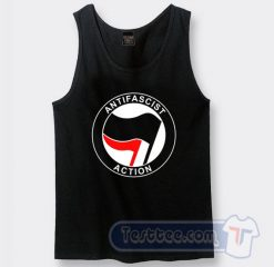 Antifa Antifascist Logo Tank Top