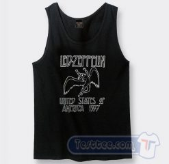 Vintage Led Zeppelin Logo Tank Top