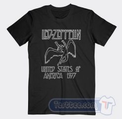 Vintage Led Zeppelin Logo Tees