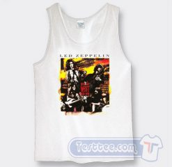 Vintage Led Zeppelin How The West Was Won Tank Top