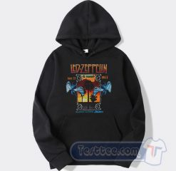 Led Zeppelin In Concert Inglewood California Hoodie