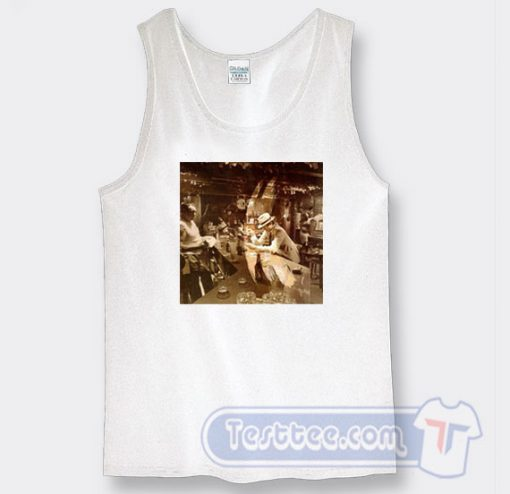 Cheap Led Zeppelin In Through The Out Door Tank Top