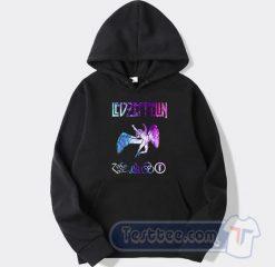 Led Zeppelin Nebula Logo Hoodie