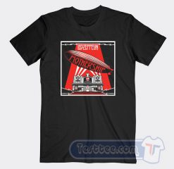 Vintage Led Zeppelin Mothership Tees